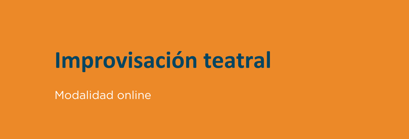 Improvisación teatral